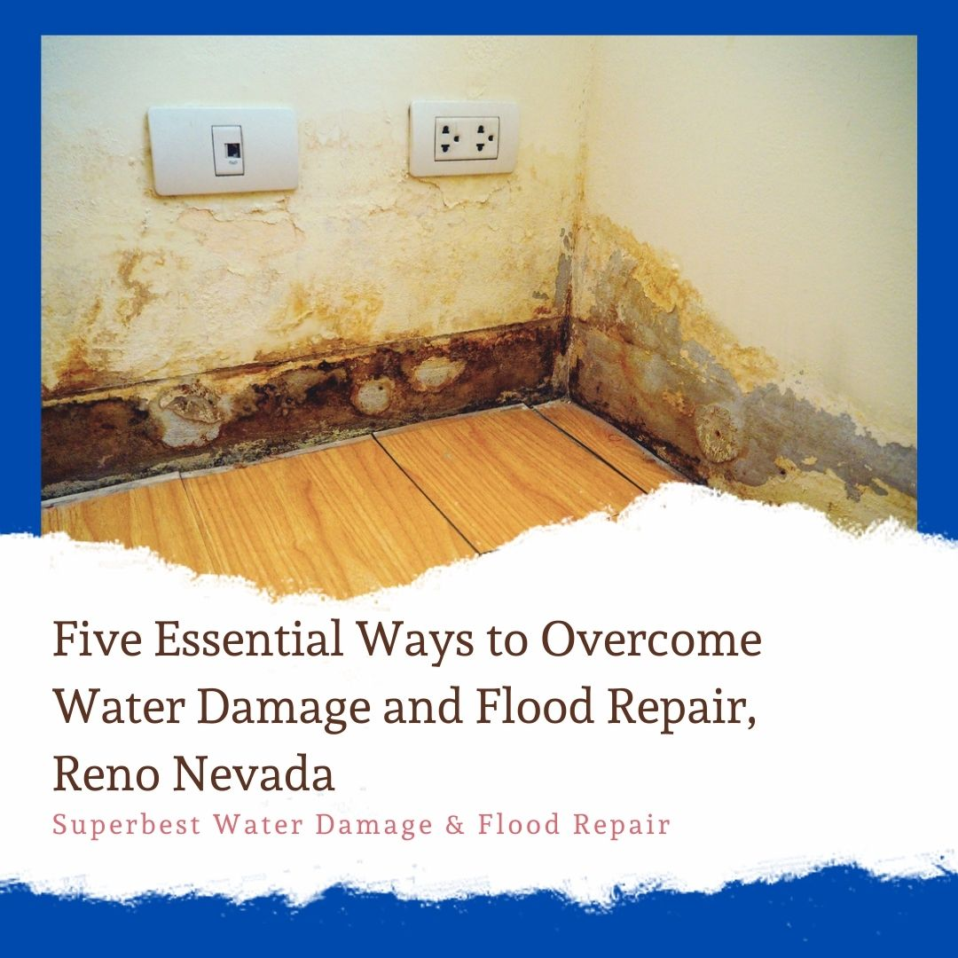 Five Essential Ways to Overcome Water Damage and Flood Repair, Reno Nevada