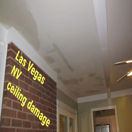 Las Vegas NV ceiling damage