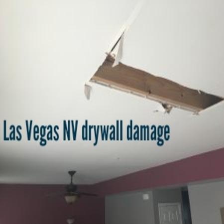 Las Vegas NV drywall damage