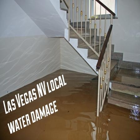 Las Vegas NV local water damage