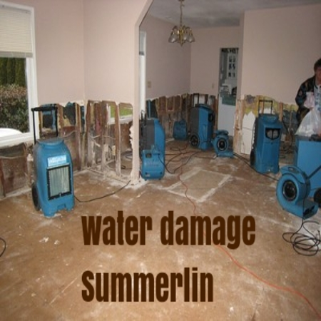 Water Damage Summerlin