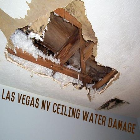 Las Vegas NV ceiling water damage