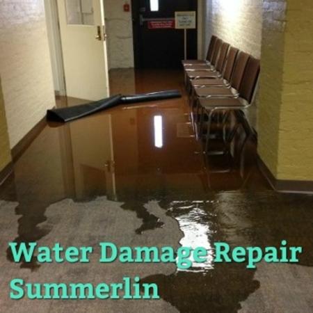 Water Damage Repair Summerlin
