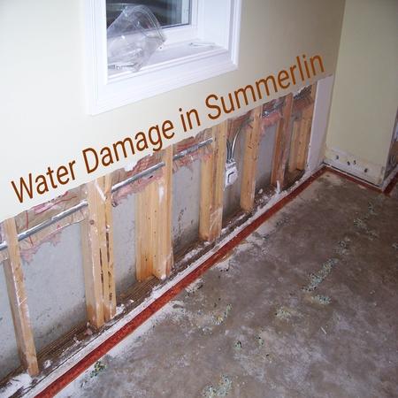 Water Damage in Summerlin