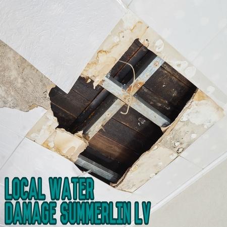 Local Water Damage Summerlin LV