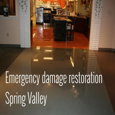 Emergency Damage Restoration Spring Valley