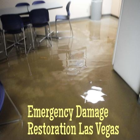 Emergency damage restoration Las Vegas