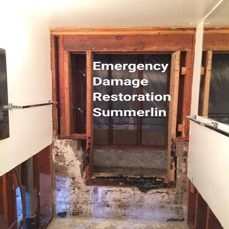 Emergency damage restoration Summerlin