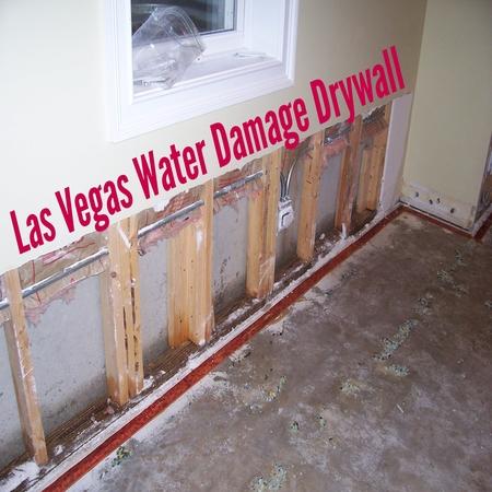 Las Vegas Water Damage Drywall