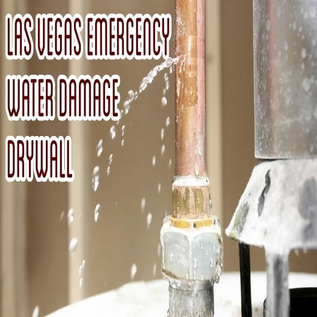 Las vegas Emergency Water Damage Drywall