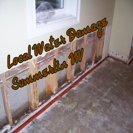 Local Water Damage Summerlin NV