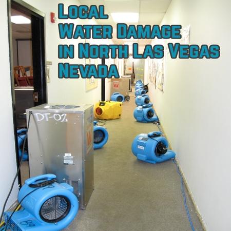 Local Water Damage in North Las Vegas Nevada