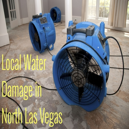 Local Water Damage in North Las Vegas