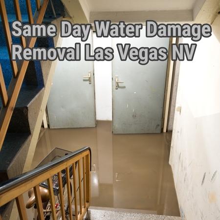 Same Day water damage removal Las Vegas NV
