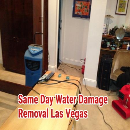 Same Day Water Damage Removal Las Vegas