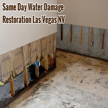 Same Day Water Damage Restoration Las Vegas NV