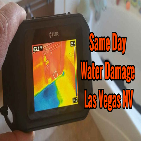 Same Day Water Damage Las Vegas NV