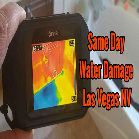 Same Day Water Damage Las Vegas NV