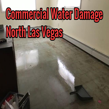 Commercial Water Damage North Las Vegas