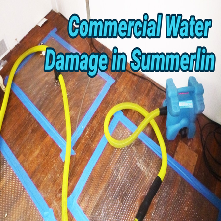Commercial Water Damage in Summerlin