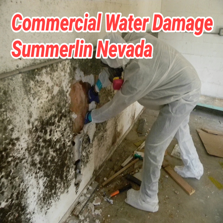 Commercial Water Damage Summerlin Nevada