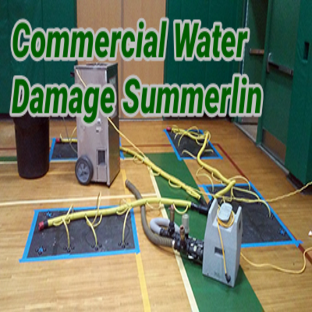 Commercial Water Damage Summerlin