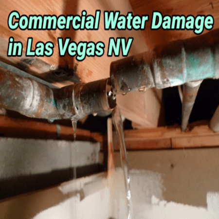 Commercial Water Damage in Las Vegas NV