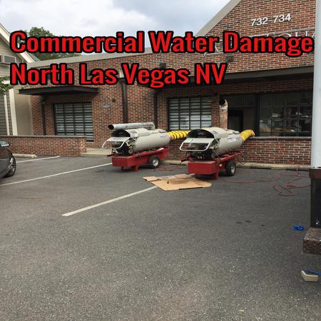 Commercial Water Damage North Las Vegas NV