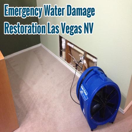 Emergency Water Damage Restoration Las Vegas NV