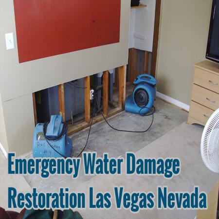 Emergency Water Damage Restoration Las Vegas Nevada