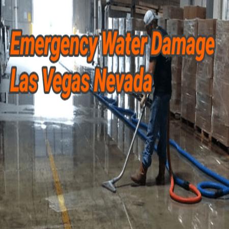 Emergency Water Damage Las Vegas Nevada