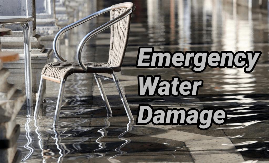 Emergency water damage