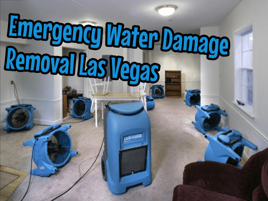 Emergency Water Damage Removal Las Vegas