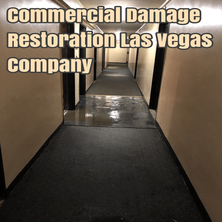 Commercial Damage Restoration Las Vegas Company