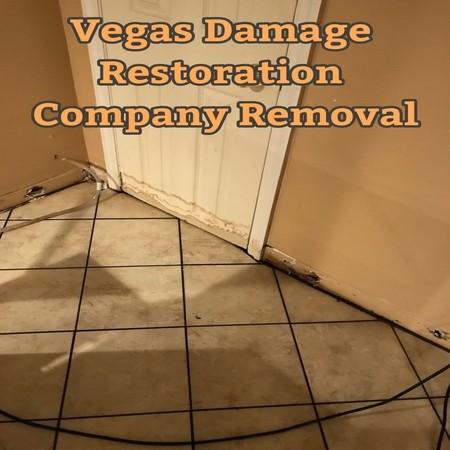 Vegas Damage Restoration Company Removal