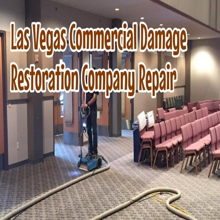 Las Vegas Commercial Damage Restoration Company Repair