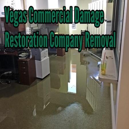 Vegas Commercial Damage Restoration Company Removal